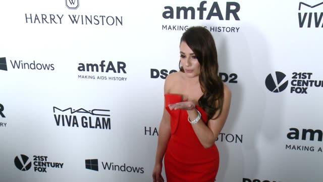 Lea Michele at amfAR's Inspiration Gala Los Angeles 2015 in Los Angeles CA