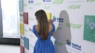 Lea Michele at Lea Michele Launches Valspar Hands For Habitat Program on July 20 2012 in New York New York