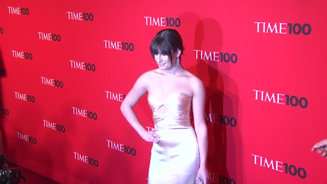 Lea Michele at the 2010 Time 100 Gala at New York NY