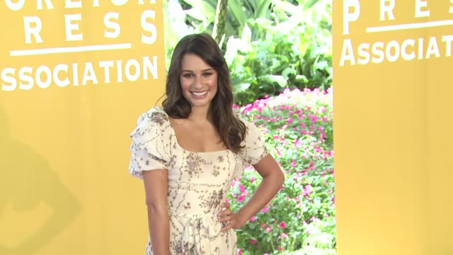 Lea Michele at the Hollywood Foreign Press Association Annual Luncheon at Beverly Hills CA