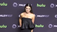 Lea Michele at The Paley Center for Media 'Scream Queens' presentation at PaleyFest LA at the Dolby Theatre in Hollywood at Celebrity Sightings in...