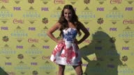 Lea Michele at the Teen Choice Awards 2015 at USC Galen Center on August 16 2015 in Los Angeles California
