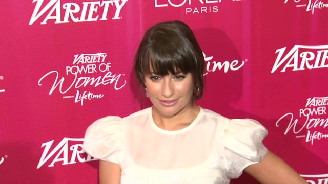 Lea Michele at the Variety's 3rd Annual 'Power of Women' Luncheon at Beverly Hills CA