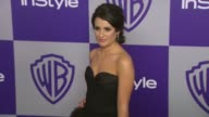 Lea Michele at the Warner Bros And InStyle Golden Globe AfterParty at Beverly Hills CA