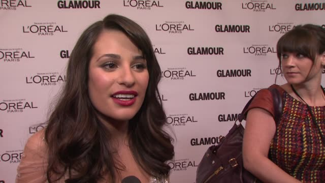Lea Michele on being a proud woman at the GLAMOUR Magazine's 21st Annual Women Of The Year Awards at New York NY