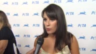 Lea Michele on the carriagehorse ban her work with PETA becoming a vegan favorite thing about PETA at the PETA's 30th Anniversary Gala And...