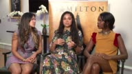 WGN Lead Actress of Chicago Production of 'Hamilton' Karen Olivio who plays Angelica Schuyler Talks About Impact of Show on Women at the Private Bank...