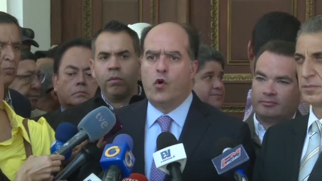 Leader of the oppositioncontrolled National Assembly Julio Borges said it was the Venezuelan people's job to put their feet down as the firm that...