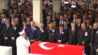Leader of the Republican People's Party Kemal Kilicdararoglu Turkish Army General Hulusi Akar Turkish Prime Minister Ahmet Davutoglu Turkey's...