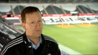 Huw Jenkins interview WALES Swansea INT Huw Jenkins interview SOT