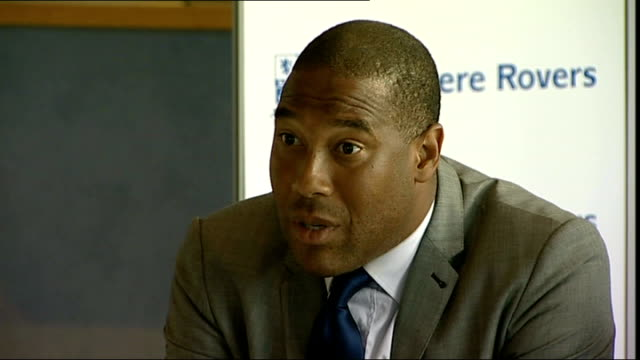 John Barnes and Jason McAteer unveiled at Tranmere Rovers Barnes press conference SOT On the current squad not able to afford high wages loan...