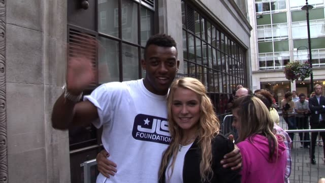 JLS leave Radio One after visiting the studios to promote the JLS Foundation Celebrity Sightings In London September 9 2010 on September 09 2010 in...