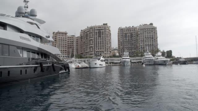 Leaving the harbour / Monte Carlo, Monaco
