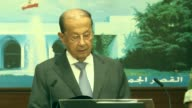 """Lebanese President Michel Aoun on Wednesday announced his country's """"victory over terrorism"""" following a 10day army campaign against Daesh terrorists..."""