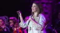 Lebanese singer Majida ElRoumi performed during the night from Saturday to Sunday in Lebanons Chouf moutains south of the capital Beirut for the last...