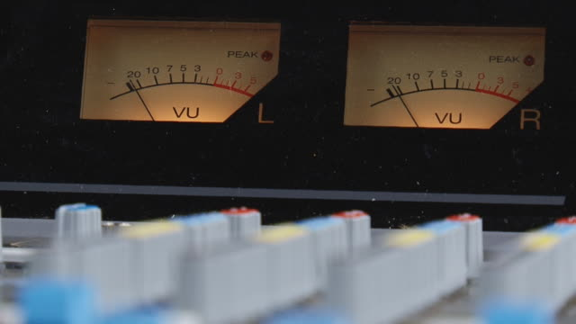 LEDs on the mixing console