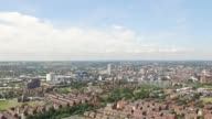 Leeds City Skyline Aerial Shot from Eastern Suburbs 2