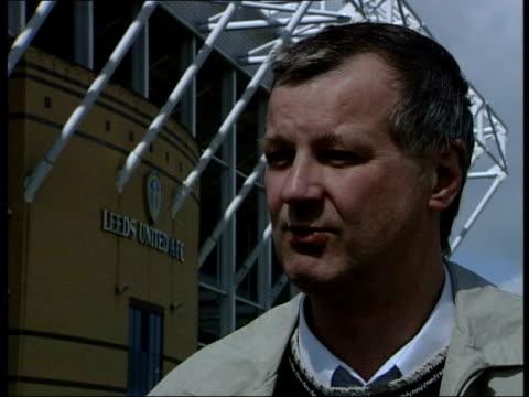Leeds United board meet to discuss relegation ITN Leeds Elland Road Doctor Bill Gerrard interview SOT Other premier teams know that Leeds have...