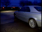 Players asked to help ITN ENGLAND Yorkshire Leeds Cars driven by Leeds United players being driven away from training ground after meeting at which...