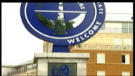Legal battle between Boris Berezovsky and Roman Abramovich Abramovich gives evidence TX 972003 London Stamford Bridge EXT Sign for Chelsea Village...