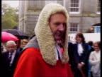 Legal reform bill changes ITN LIB EXT Temple Judge chats guards