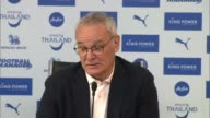 Leicester City close to winning Premier League title Diversity of fanbase ENGLAND Leicester King Power INT Side Shot Claudio Ranieri at press...