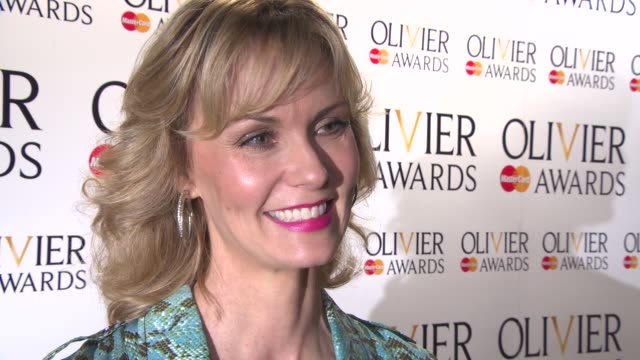 INTERVIEW Leigh Zimmerman on the nominations the awards the different shows in the West End at The Laurence Olivier Awards nominees announced at The...