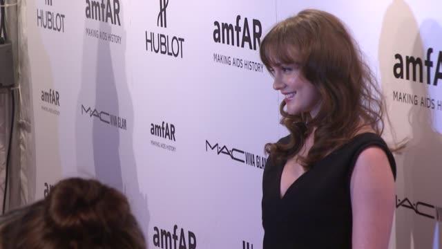 Leighton Meester at amfAR New York Gala To Kick Off Fall 2012 Fashion Week on in New York
