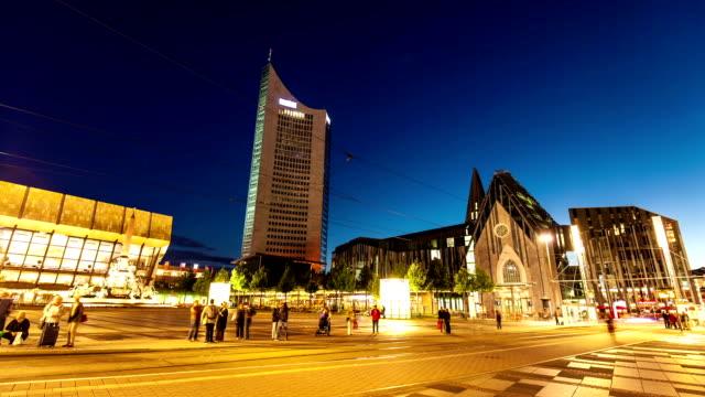 Leipzig in der Nacht, Zeitraffer