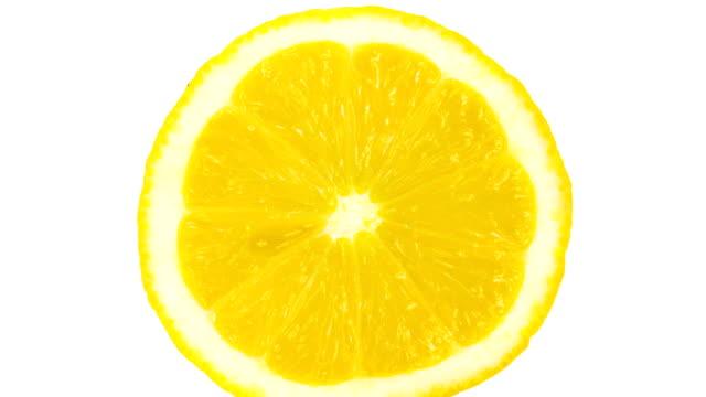 Lemon Portion On White