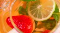 Lemonade close-up