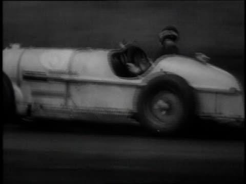 Lemuel Ladd wins open wheel car race / Montauk New York