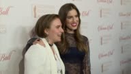 Lena Dunham and Allison Williams at 8th Annual Blossom Ball To Benefit The Endometriosis Foundation Of America at Pier Sixty at Chelsea Piers on...