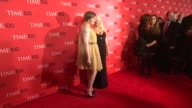 Lena Dunham and Christina Aguilera at 2013 Time 100 Gala Arrivals at Frederick P Rose Hall Jazz at Lincoln Center on April 23 2013 in New York New...