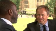 Lenny Henry attacks lack of diversity in media industry ENGLAND London Westminster EXT Sir Lenny Henry interview SOT