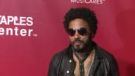 Lenny Kravitz at the 2016 MusiCares Person of The Year Honoring Lionel Richie at Los Angeles Convention Center on February 13 2016 in Los Angeles...