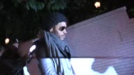Lenny Kravitz leaving the Chateau Marmont in West Hollywood 03/03/12