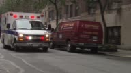 Lenox Hill Hospital Ambulance and EMS on December 18 2013 in New York New York