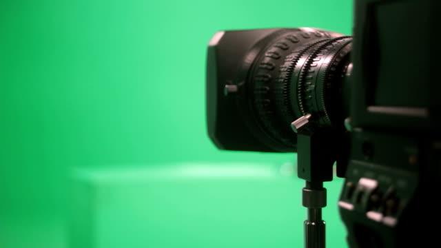 Objektiv der Kamera