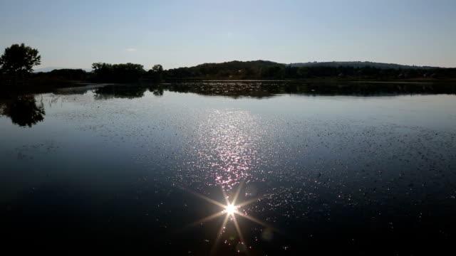 Lens in lake