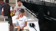 Leo Messi with his family in Ibiza