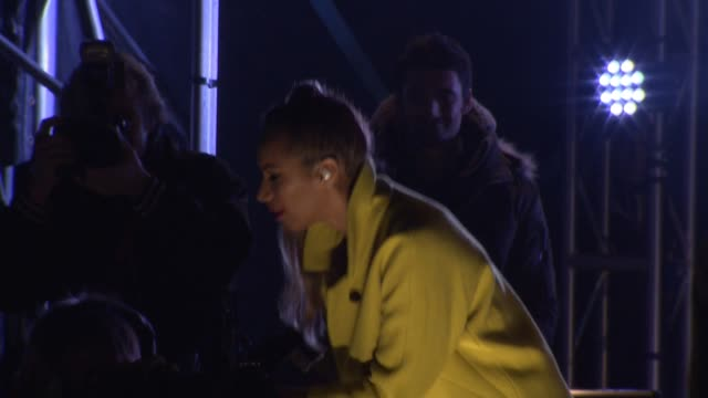 Leona Lewis at Oxford Street Christmas Lights Switch on on November 05 2012 in London England