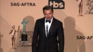 INTERVIEW Leonardo DiCaprio at 22nd Annual Screen Actors Guild Awards Press Room in Los Angeles CA