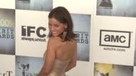 Leonor Varela at the Film Independent's 2009 Spirit Awards Arrivals Part 3 at Los Angeles CA