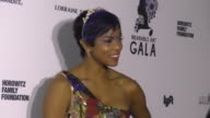 LeToya Luckett at The Wearable Art Gala at California African American Museum on April 29 2017 in Los Angeles California