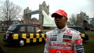Lewis Hamilton and Mika Hakkinen launch anti drinkdrive campaign Lewis Hamilton interview SOT saying It's a great campiagn to be part of / get...