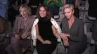 Lewis Hamilton Cate Blanchett Charlene Wittstock Roberta Armani and more front row for the Giorgio Armani Ready to Wear Spring Summer 2018 Fashion...