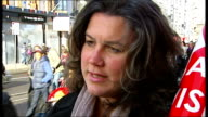 Protesters and interviews Heidi Alexander MP interview SOT Protesters along with 'Save our Children's ward Save Lewisham Hospital' placard / 'H' 'A...