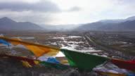Lhasa high angle view, Tibet