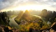 Li River HD timelapse. Guilin. Guangxi. China
